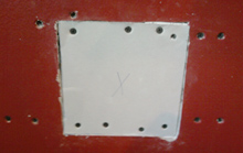 Drywall Hole Patch