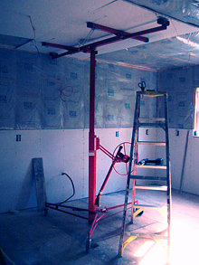 Drywall Lifts, Lazy Lifter